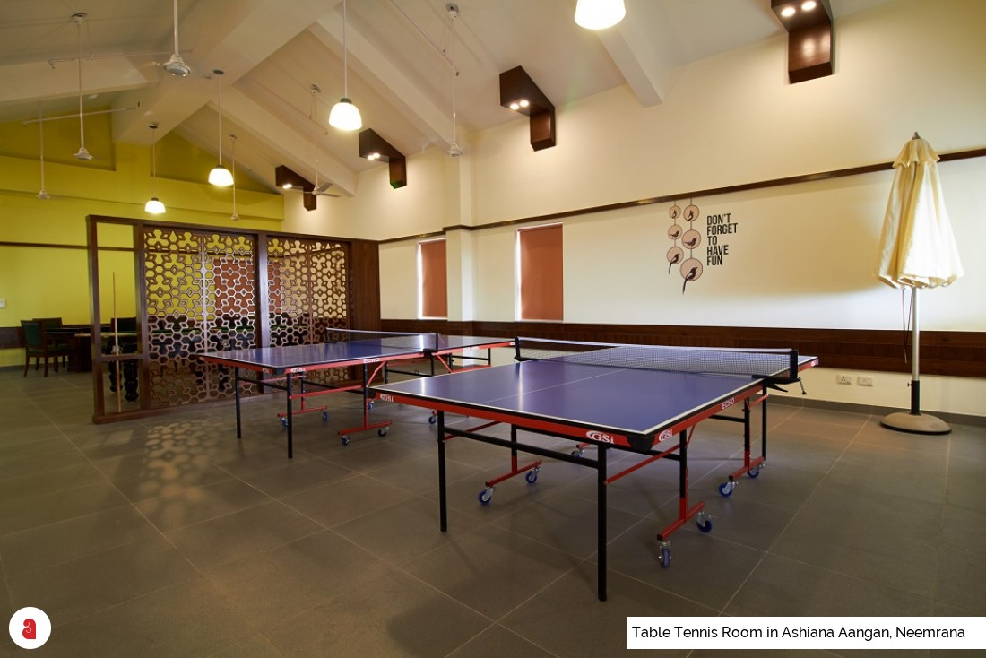 Table Tennis Room in Ashiana Aangan, Neemrana