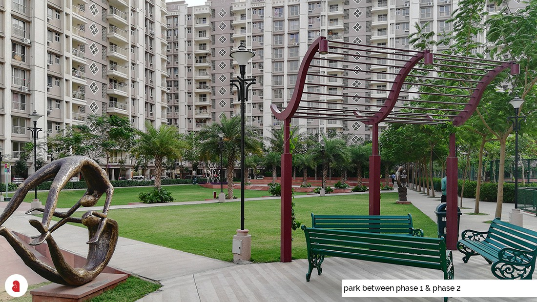 park between phase 1 & phase 2